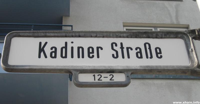Kadiner Straße