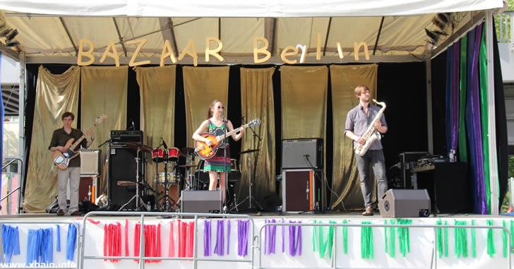 Livemusik auf dem Karneval der Kulturen