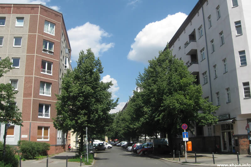 Kinzigstraße Ecke Scharnweberstraße