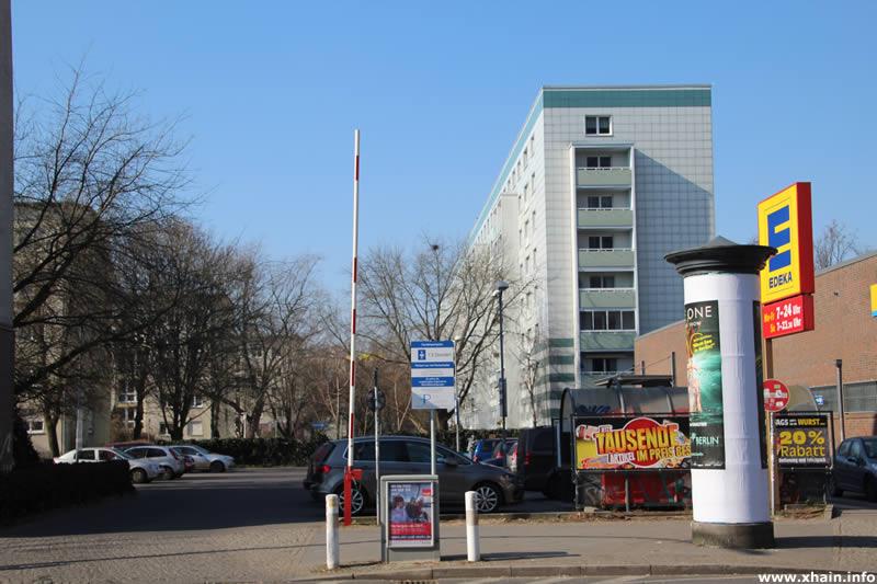 Edeka-Parkplatz Kleine Andreasstraße Ecke Andreasstraße