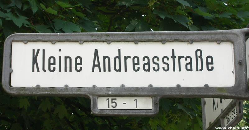 Kleine Andreasstraße