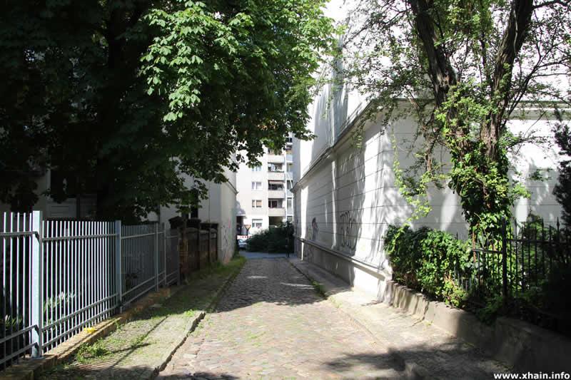 Kleine Parkstraße, Blickrichtung Kreuzbergstraße