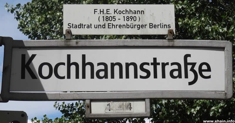Kochhannstraße