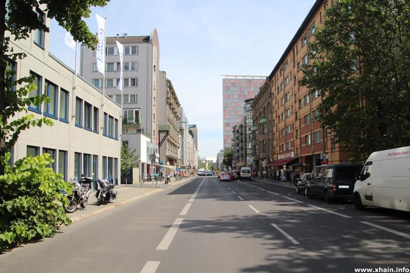 Kochstraße, Blickrichtung Rudi-Dutschke-Straße