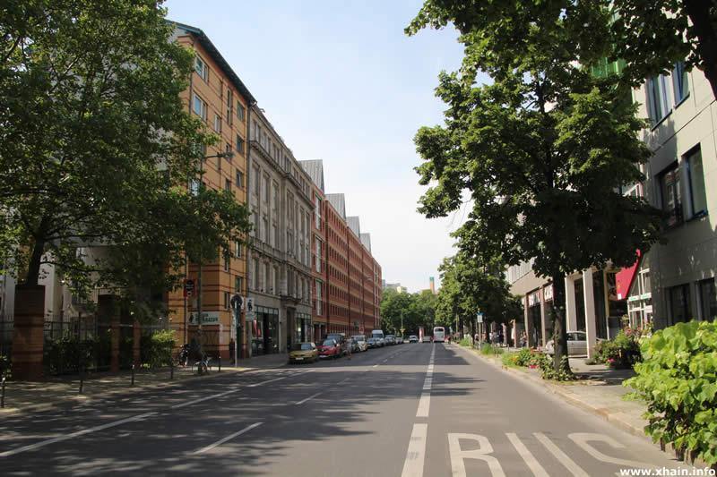 Kochstraße, Blickrichtung Wilhelmstraße