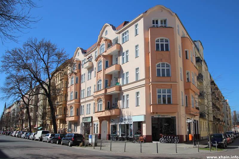 Körtestraße Ecke Freiligrathstraße