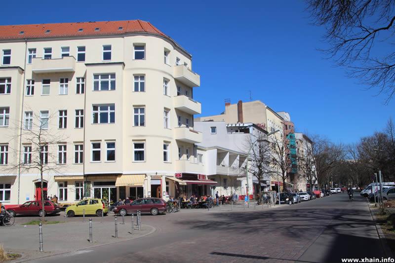 Körtestraße, Ecke Freiligrathstraße