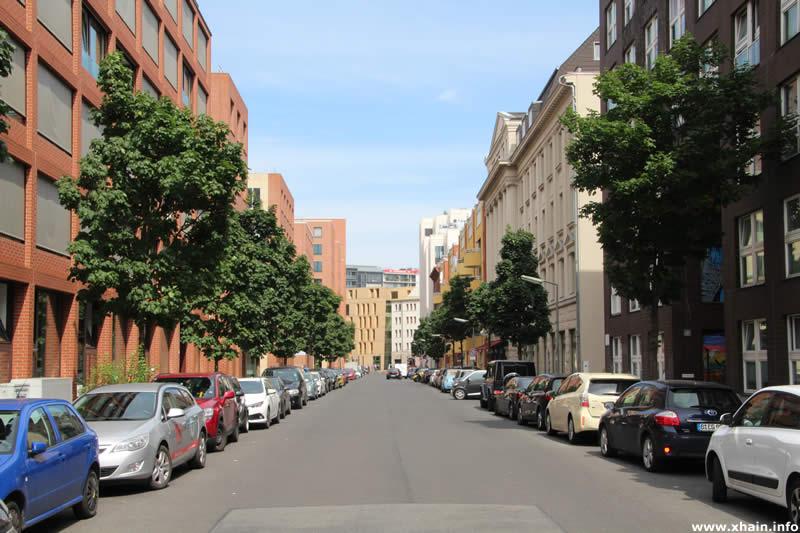 Köthener Straße, Blickrichtung Stresemannstraße