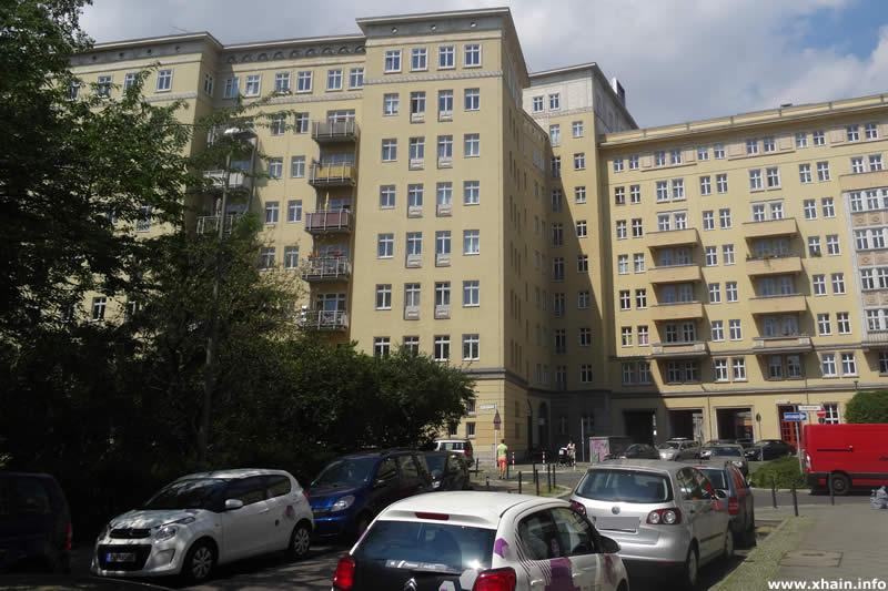 Krautstraße, Blickrichtung Strausberger Platz