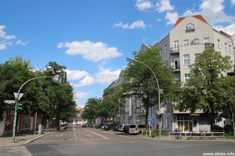 Kreuzbergstraße Ecke Monumentenstraße