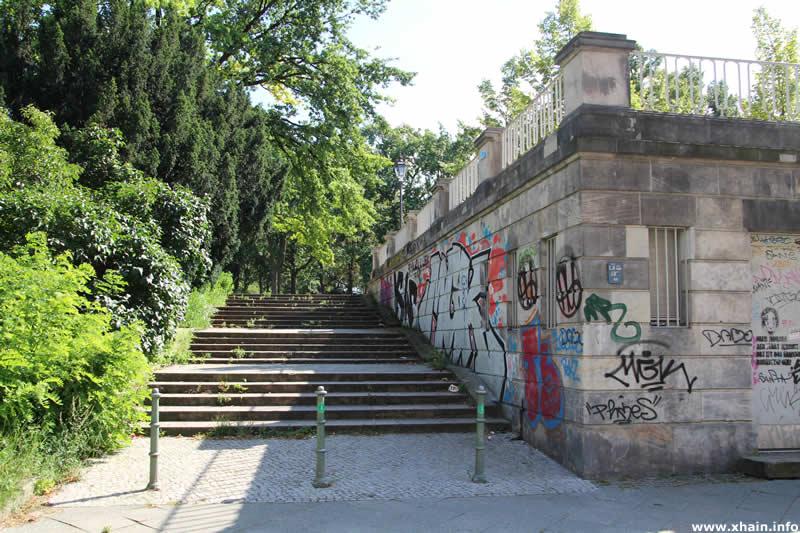 Zugang zum Viktoriapark