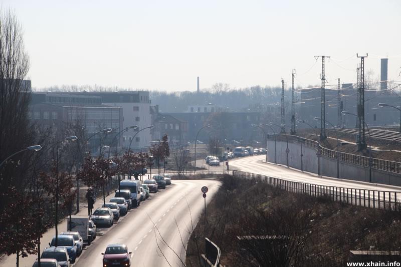 Kynaststraße, Blickrichtung Alt-Stralau