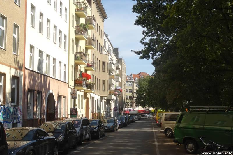 Lachmannstraße, Blickrichtung Kottbusser Damm