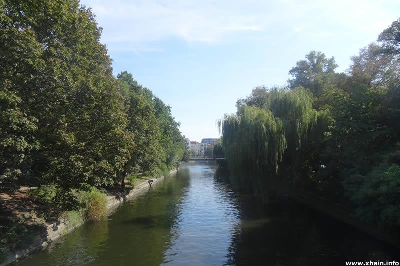 Landwehrkanal am Paul-Lincke-Ufer