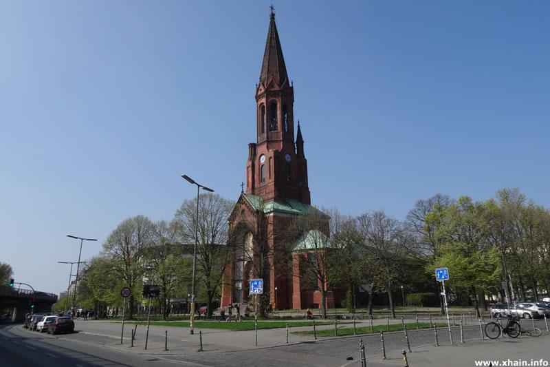 Lausitzer Platz - Emmauskirche