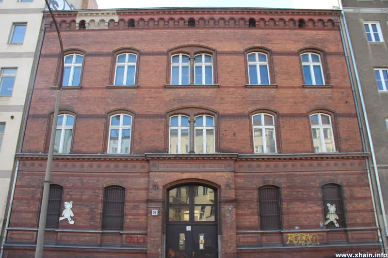 Lehrerwohnhaus Friedenstraße 31 / Polizeiwache