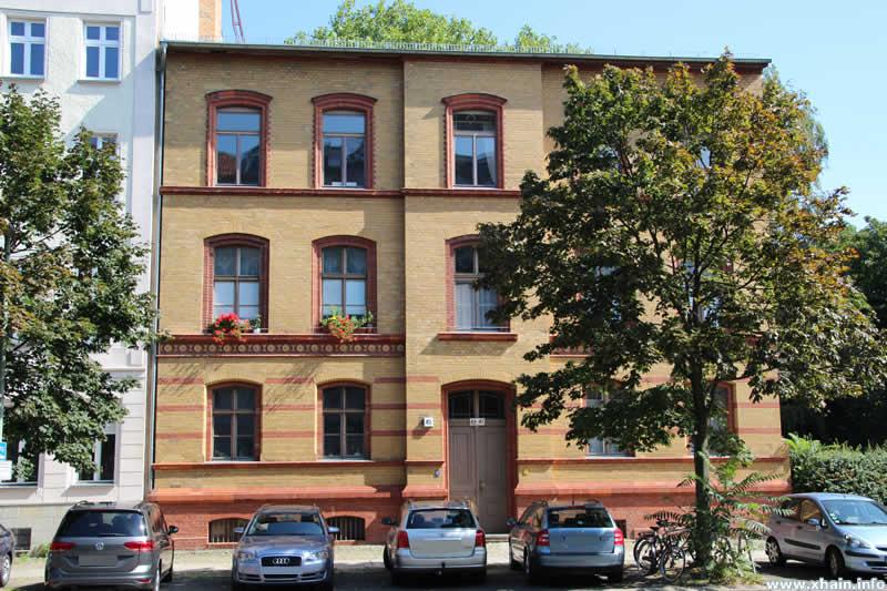 Rektorenwohnhaus der 87. und 98. Gemeindeschule