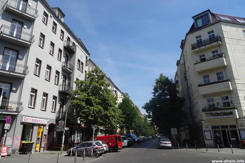 Libauer Straße, Ecke Revaler Straße (Via Nova)