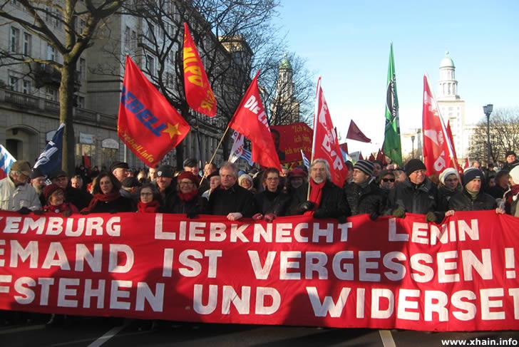 Liebknecht-Luxemburg-Demonstration