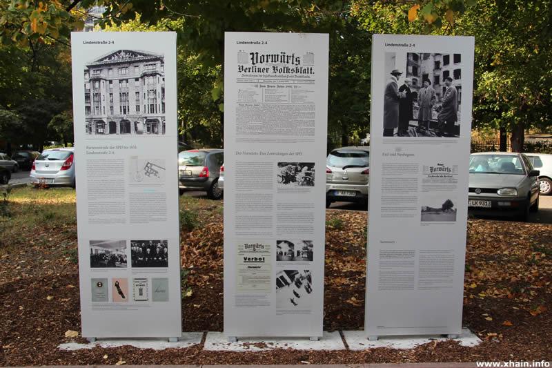 SPD-Gedenkstelen Lindenstraße