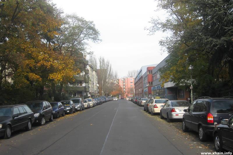 Lobeckstraße, Blickrichtung Oranienstraße