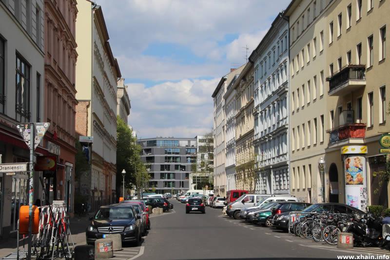 Luckauer Straße, Ecke Oranienstraße