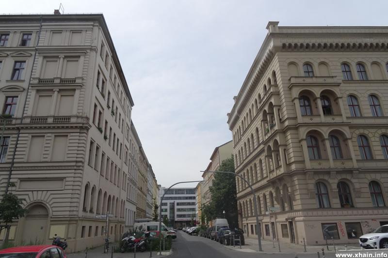 Luckauer Straße, Ecke Sebastianstraße