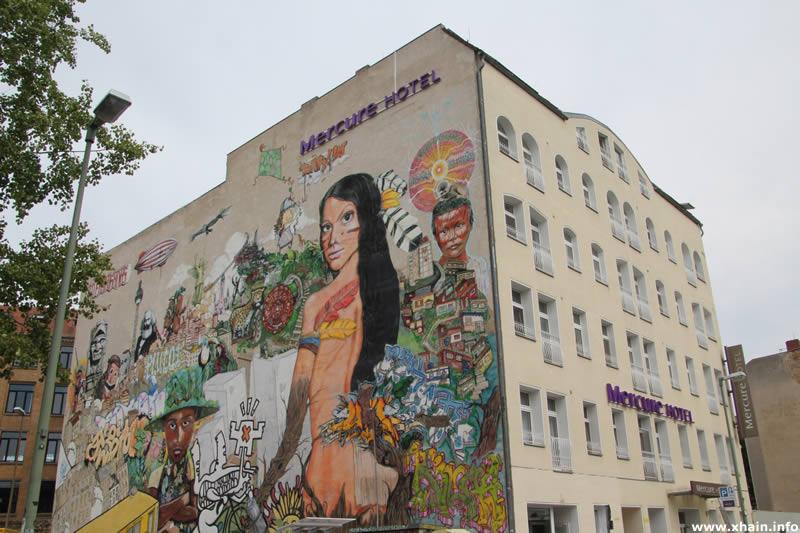Wandmalerei Luckenwalder Straße