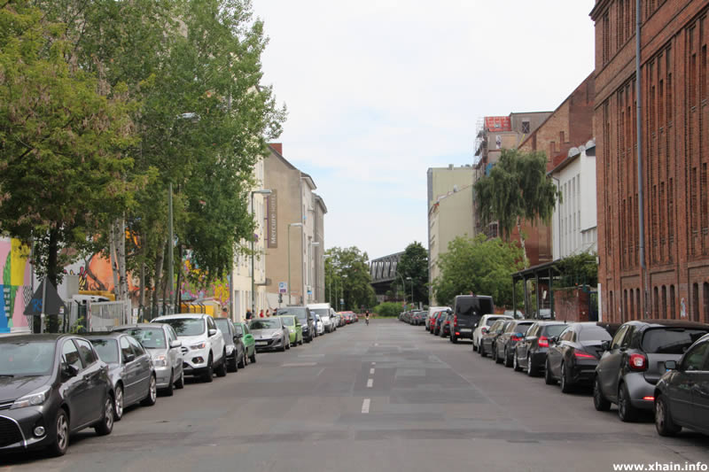 Luckenwalder Straße, Blickrichtung Tempelhofer Ufer