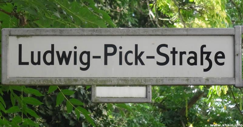 Ludwig-Pick-Straße