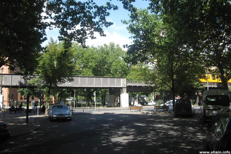 Lübbener Straße, Ecke Skalitzer Straße (Hochbahn)
