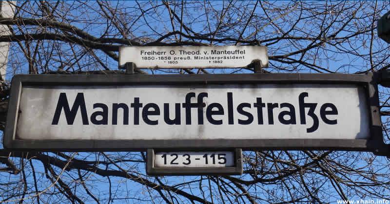 Manteuffelstraße | Berlin-Kreuzberg - xhain.info