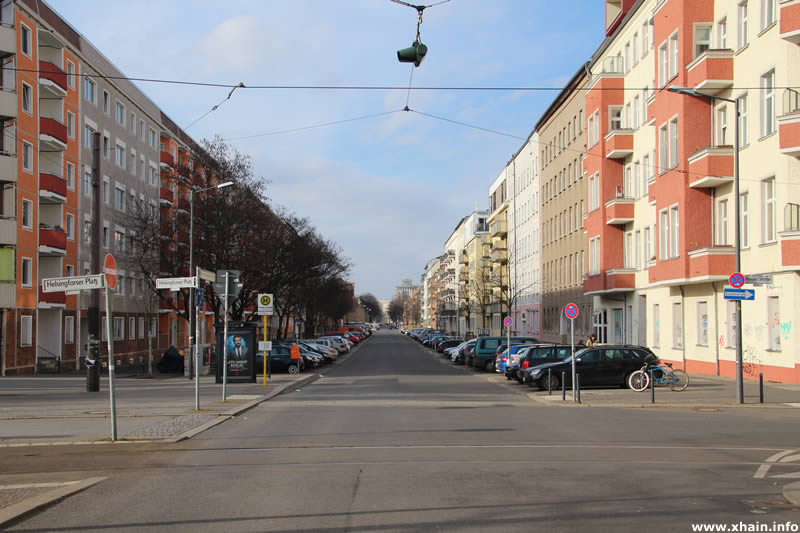 Marchlewskistraße Ecke Helsingforser Platz / Revaler Straße