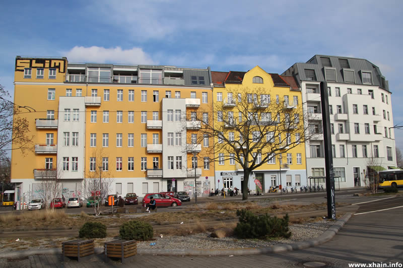 Marchlewskistraße am Helsingforser Platz