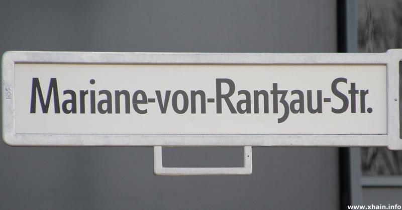 Mariane-von-Rantzau-Straße