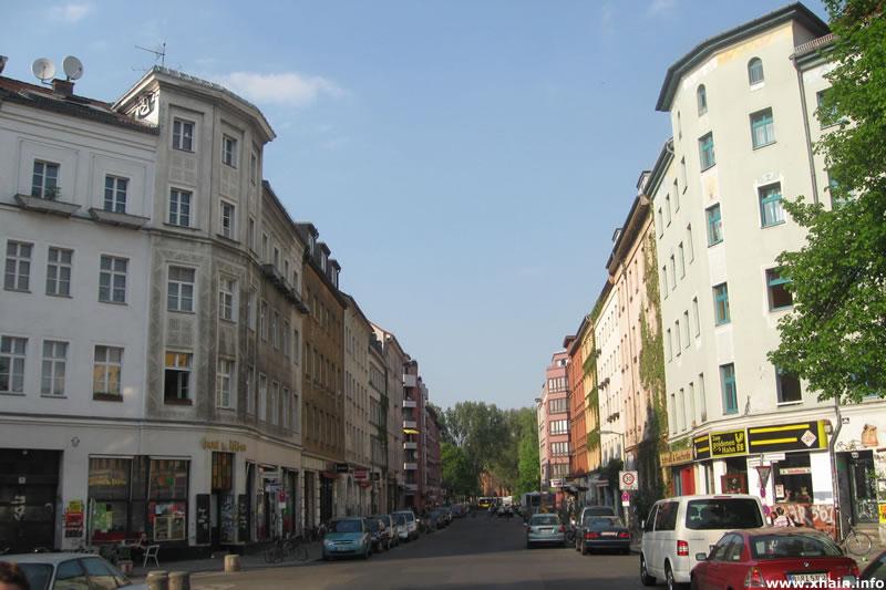 Mariannenstraße, Blickrichtung Mariannenplatz