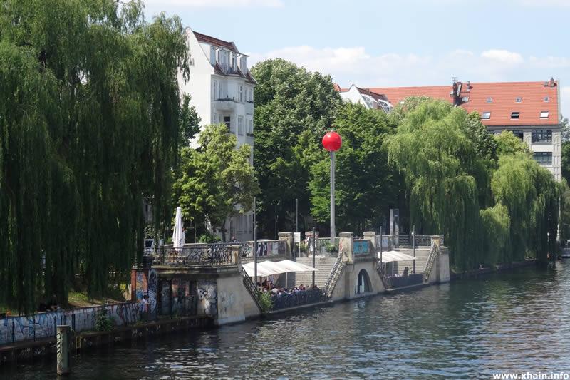 Anleger am May-Ayim-Ufer (Restaurant Rio Grande)