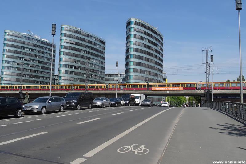 Michaelbrücke, Blickrichtung Holzmarktstraße