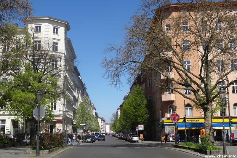 Mittenwalder Straße Ecke Gneisenaustraße