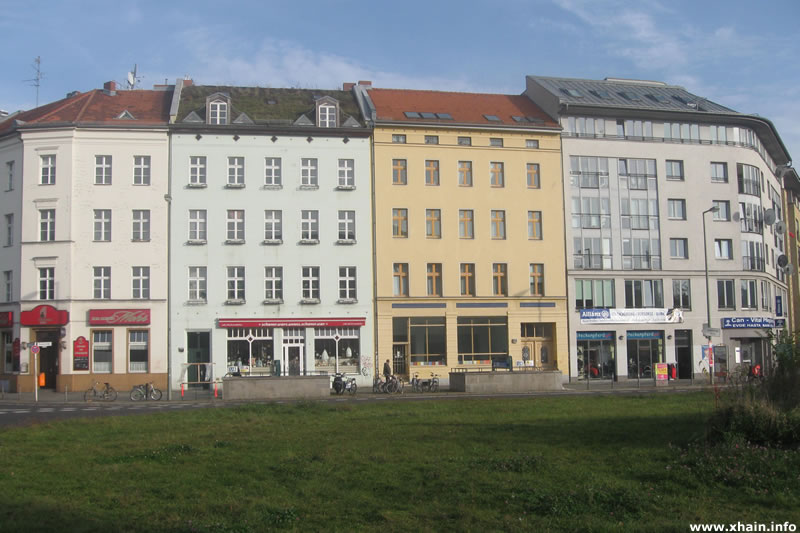 Moritzplatz, Nordostseite