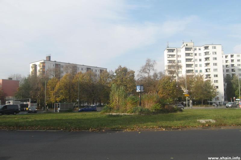 Moritzplatz, Blickrichtung Nordwest