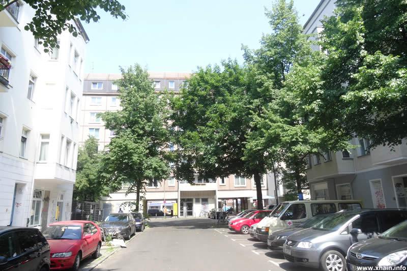 Müggelstraße, Durchgang zur Frankfurter Allee