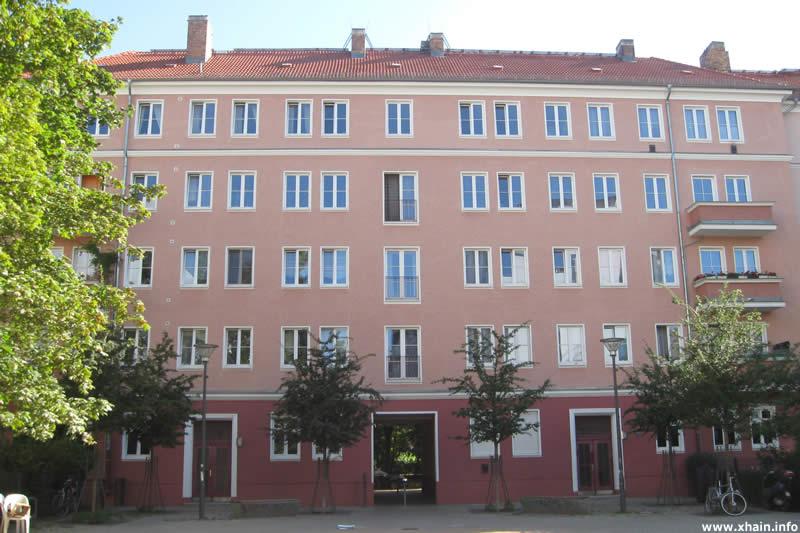 Müggelstraße (Durchgang zur Oderstraße)