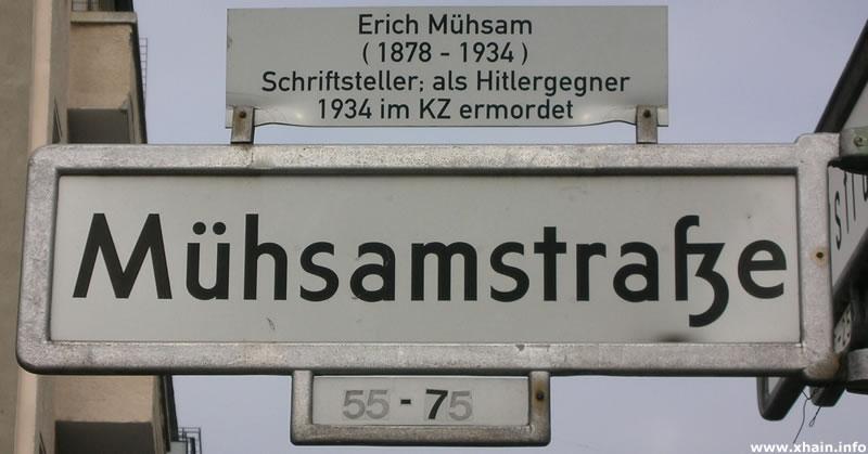 Mühsamstraße
