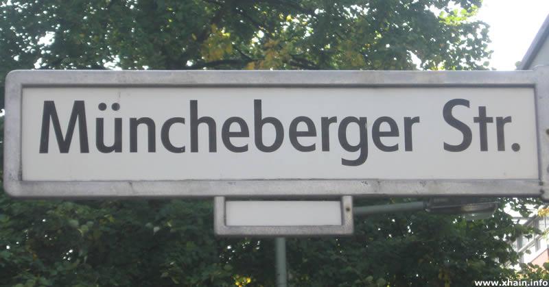 Müncheberger Straße