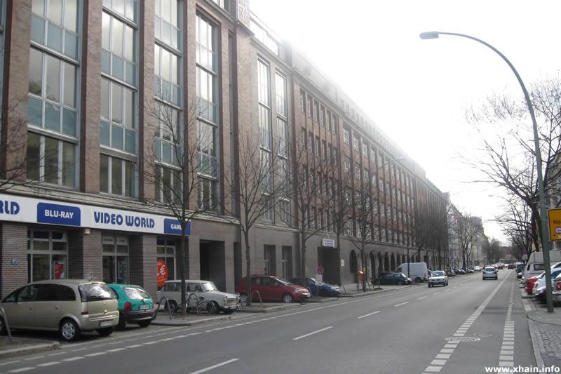 Neue Bahnhofstraße Ecke Weserstraße (Knorr-Bremse)