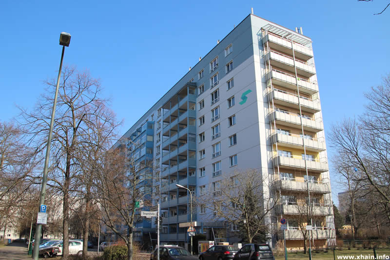 Plattenbauten Neue Blumenstraße Ecke Singerstraße