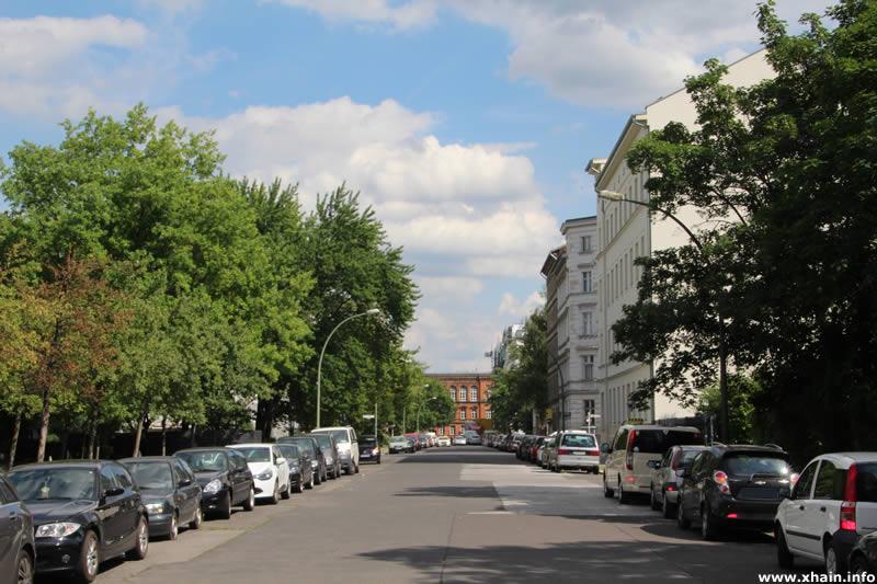Neuenburger Straße, Blickrichtung Osten