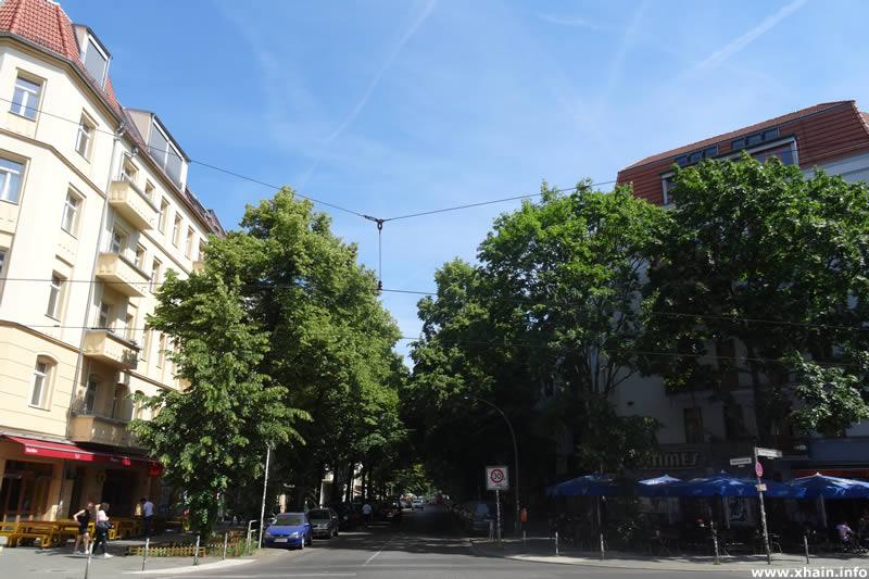 Niederbarnimstraße Ecke Boxhagener Straße (Kino Intimes)