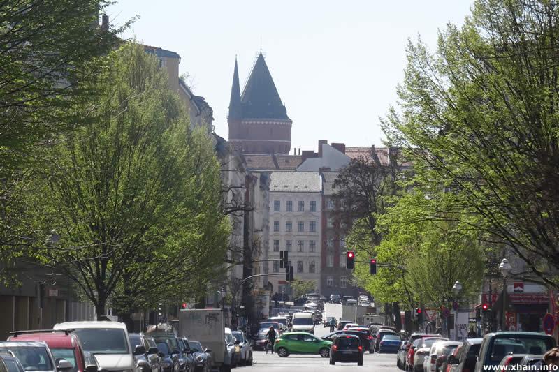 Nostitzstraße, Blickrichtung Süden